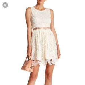 Romeo & Juliet Romantic Ivory lace dress
